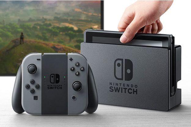 Switch, la nouvelle console de Nintendo.