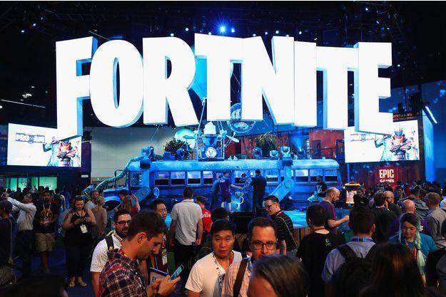 Lors d'un événement Fortnite.