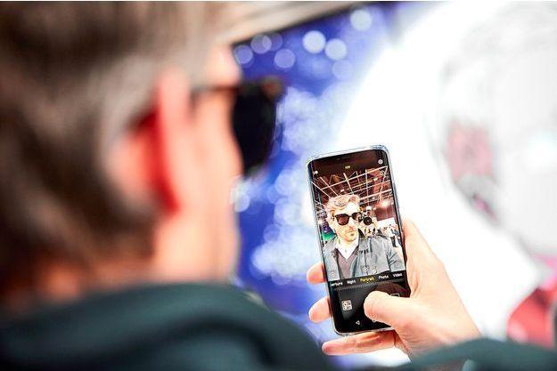 Selfie avec le Huawei P30.