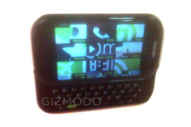 Dévoilée par le site Gizmodo, une première image fuitée d'un téléphone Pink Project