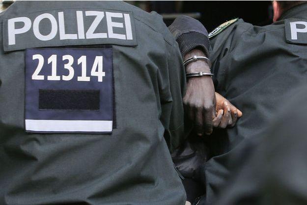 Des policiers berlinois