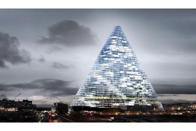 La tour Triangle s'installera porte de Versailles et abritera des bureaux, des salles de congrès et des commerces.