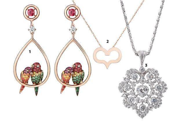 Des bijoux pour la Saint-Valentin