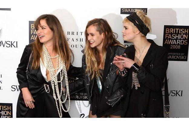 Jade Jagger, Alice Dellal et Pixie Geldof