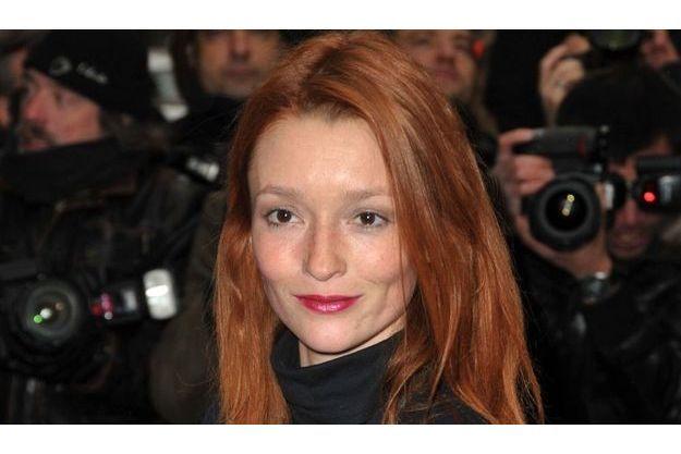 Audrey Marney au défilé Chanel lors de la Fashion Week parisienne l'hiver dernier
