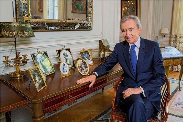 Bernard Arnault au bureau de monsieur Dior, le 19 juin 2017 (Photo Vlada Krassilnikova).