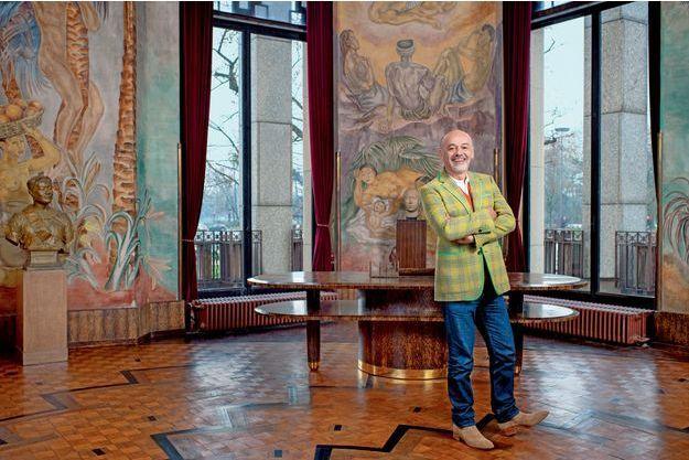 Le 22 janvier. Grâce à la maison Louboutin et au Mobilier national, les meubles d'Eugène Printz (1889-1948) du salon ovale du maréchal Lyautey y ont retrouvé leur splendeur Art déco.