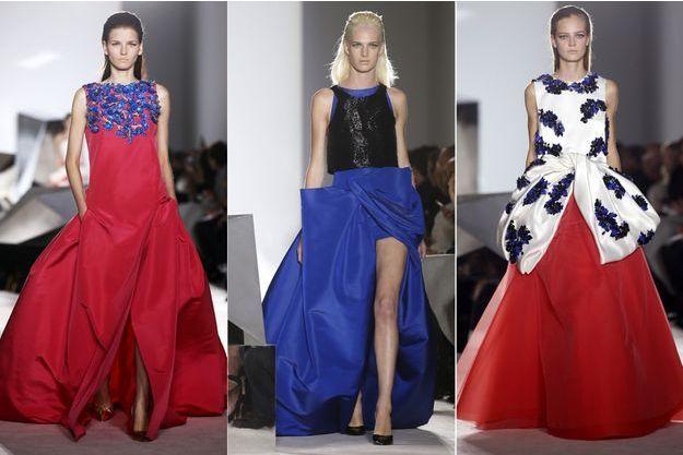 La collection Haute Couture 6 de Giambattista Valli.