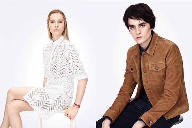 Ilona Smet et Alain-Fabien Delon, stars de la nouvelle campagne Zapa