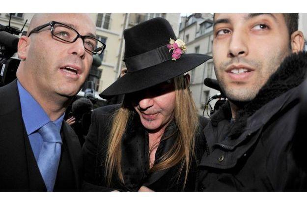 John Galliano lors de son audition par la police, le 28 février dernier.
