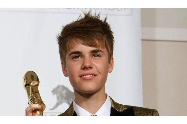 Justin Bieber, lors de la cérémonie des Billboard Music Awards