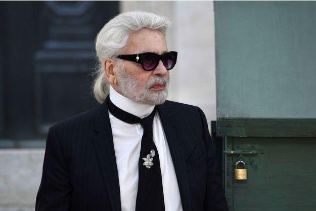 Karl Lagerfeld, juillet 2018