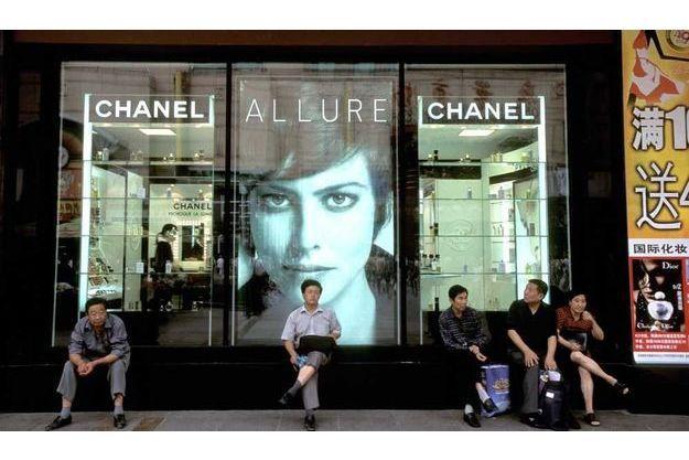 Une boutique Chanel en Chine.