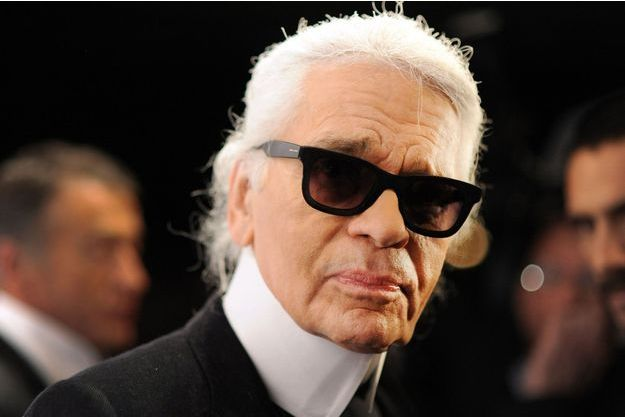 Karl Lagerfeld en 2012.
