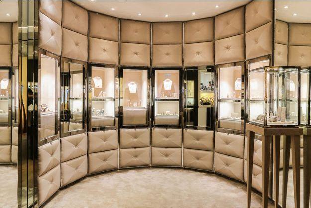 L'intérieur de la boutique Les Montres Paris
