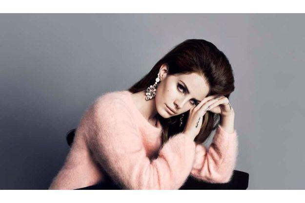 Campagne H&M Automne 2012. Lana del Rey photographiée par Inez van Lamsweerde et Vinoodh Matadm.