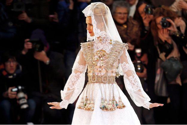 La robe de mariée de Franck Sorbier