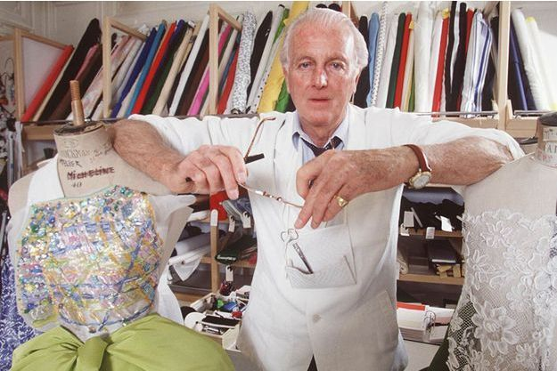 Hubert de Givenchy en 1992.