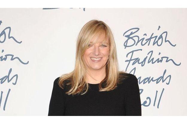 Sarah Burton, lauréate du le prix du Meilleur Créateur de l'Année aux British Fashion Awards en novembre 2011