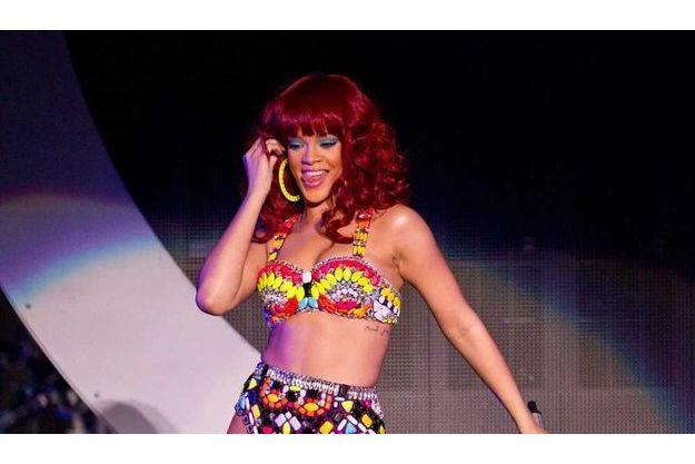 Rihanna en concert au Madalay Bay Resort à Las Vegas, le 2 juillet dernier.