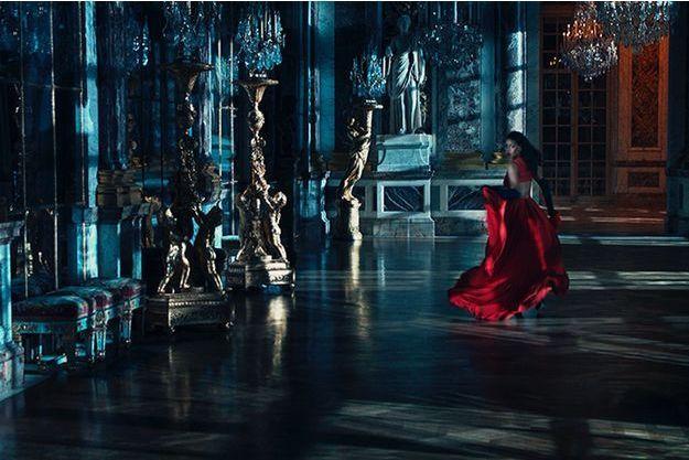 Rihanna dans la campagne 'Secret Garden' de Dior.