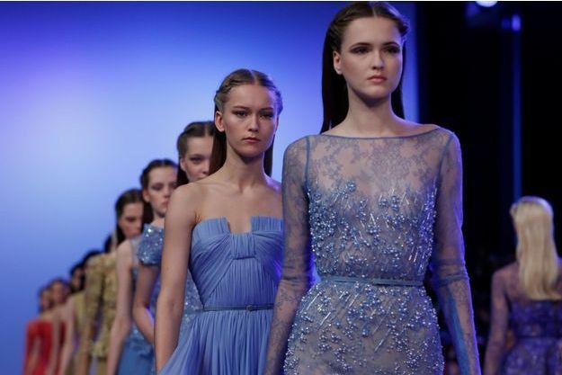 Le défilé Haute Couture d'Elie Saab.