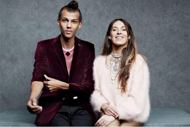 Stromae et Coralie se sont mariés dans la plus stricte intimité en décembre 2015, à Malines, en Belgique. Styliste originaire de Namur, Coralie est à la base du look original de l'auteur-compositeur-interprète
