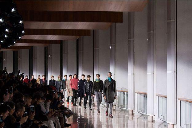 Défilé Hermès, à la Fashion Week de Paris, en janvier 2016.