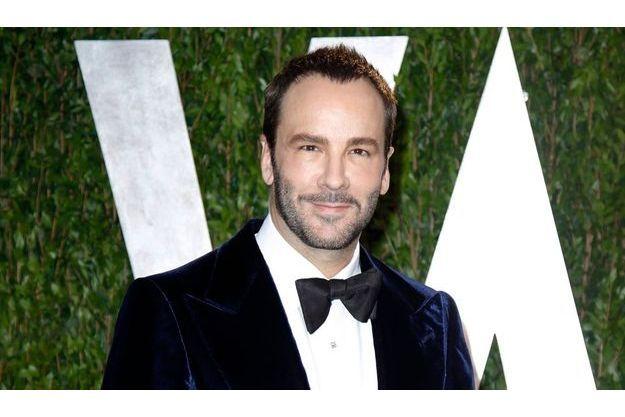 """Tom Ford à la soirée """"Vanity Fair"""", après les Oscars, en février dernier."""
