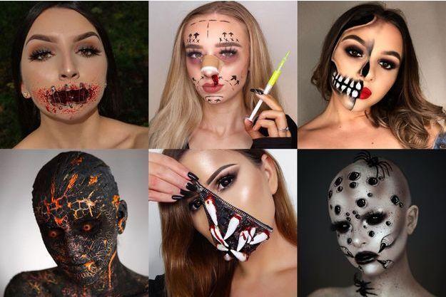 Maquillages pour un Halloween réussi