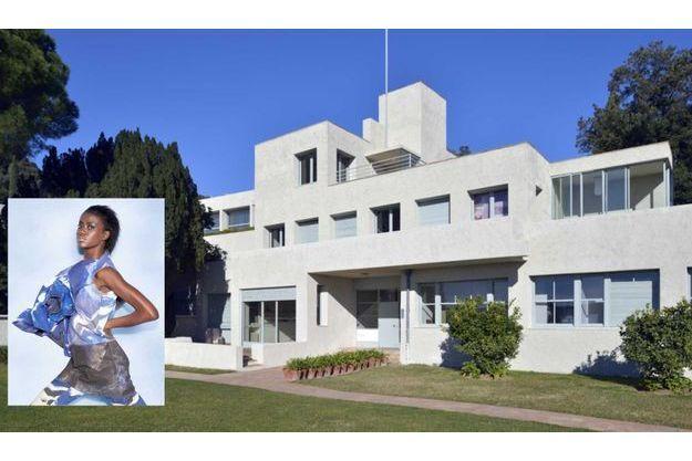 La villa Noailles et une création d'une des candidates.