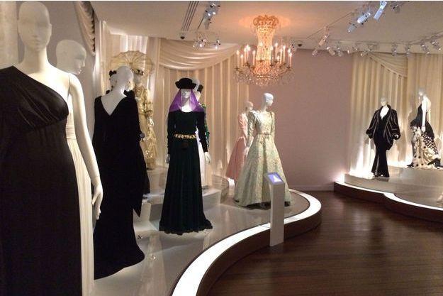 A l'intérieur du nouveau musée Yves Saint Laurent qui ouvre mardi à Paris.