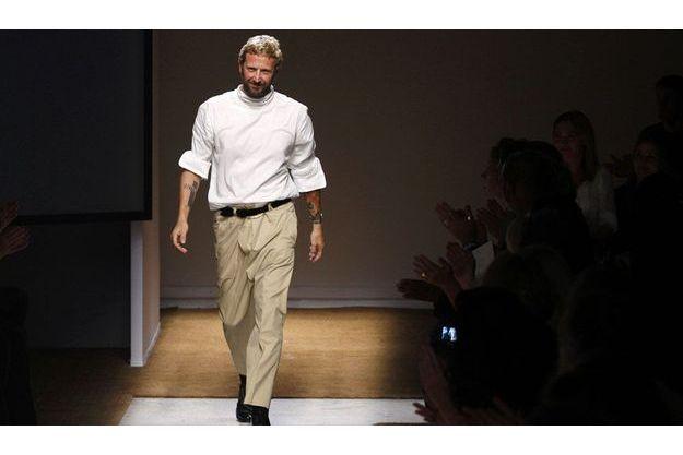 Stefano Pilati, directeur de la création, quitte la maison Yves Saint Laurent.