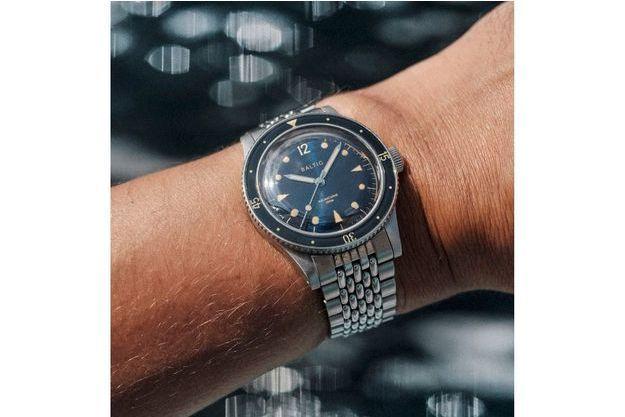 La marque de montres françaises, Baltic, lance une nouvelle montre de plongée : l'Aquascaphe.