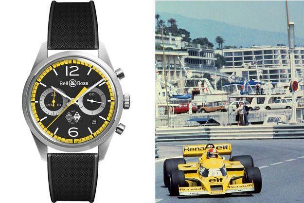 Bell & Ross a dévoilé sa nouvelle pièce : la Vintage BR126 Renault Sport 40th Anniversary.