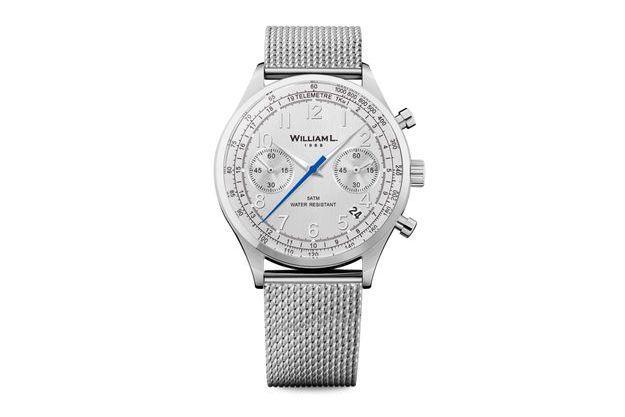 Colette dévoile le chronographe William L. 1985 : une pièce exclusive.