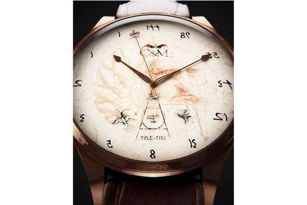 """""""Da Vinci 500"""", la montre qui tourne à l'envers"""