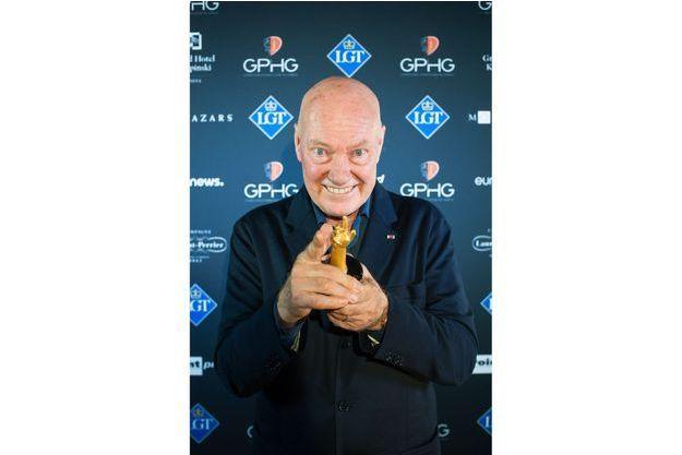 Jean-Claude Biver qui s'est vu remettre le Prix Spécial du Jury au Grand Prix d'Horlogerie de Genève