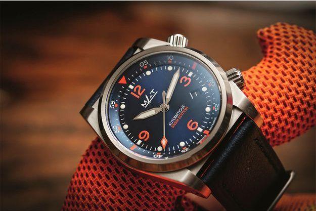 Mer-air-terre : une montre spéciale pour les sauveteurs en mer