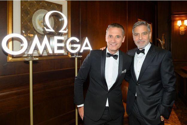 Omega et George Clooney fêtent le 50e anniversaire du premier pas sur la lune