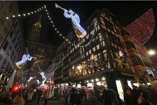Le marché de Noël de Strasbourg.