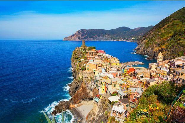 Cinque Terre, en Italie.