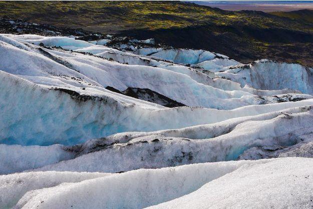 Langue du glacier Vatnajökull