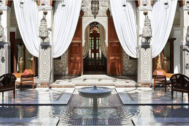 Le Royal Mansour, le plus confidentiel des palaces marrakchis