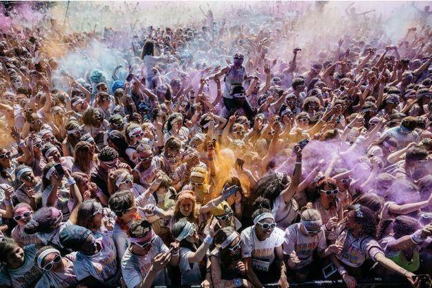 La foule sur le dancefloor de Trocadéro.
