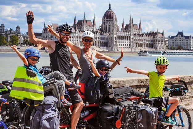 La famille Julien à Budapest.