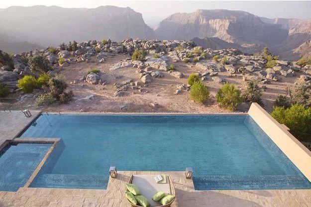 La Royal Mountain Villa à Oman.