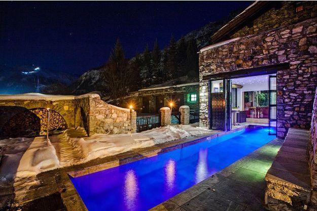 Le luxe à Val d'Isère.