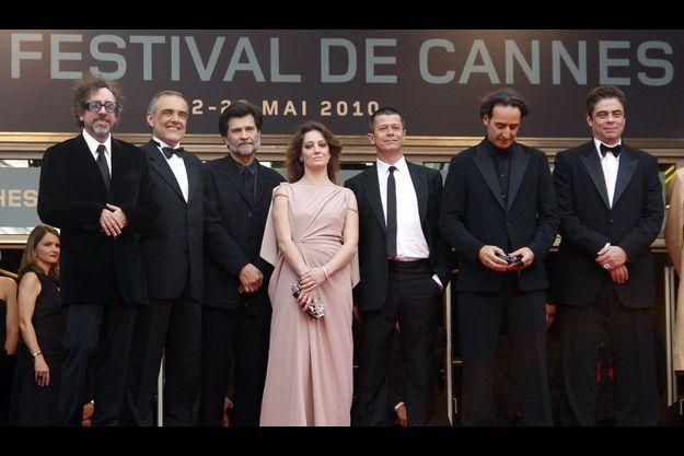 Une partie du jury du 63e Festival de Cannes.