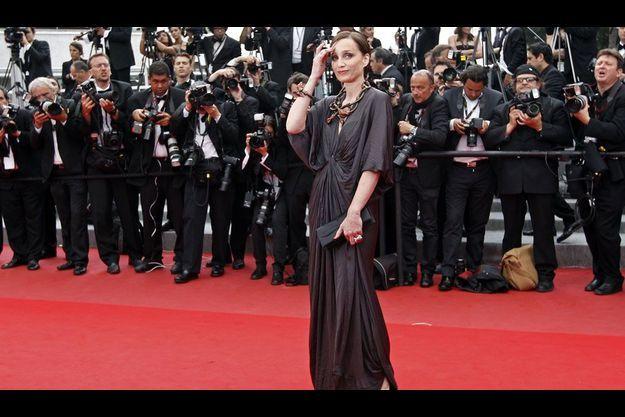 Kristin Scott Thomas, maîtresse de cérémonie à Cannes.